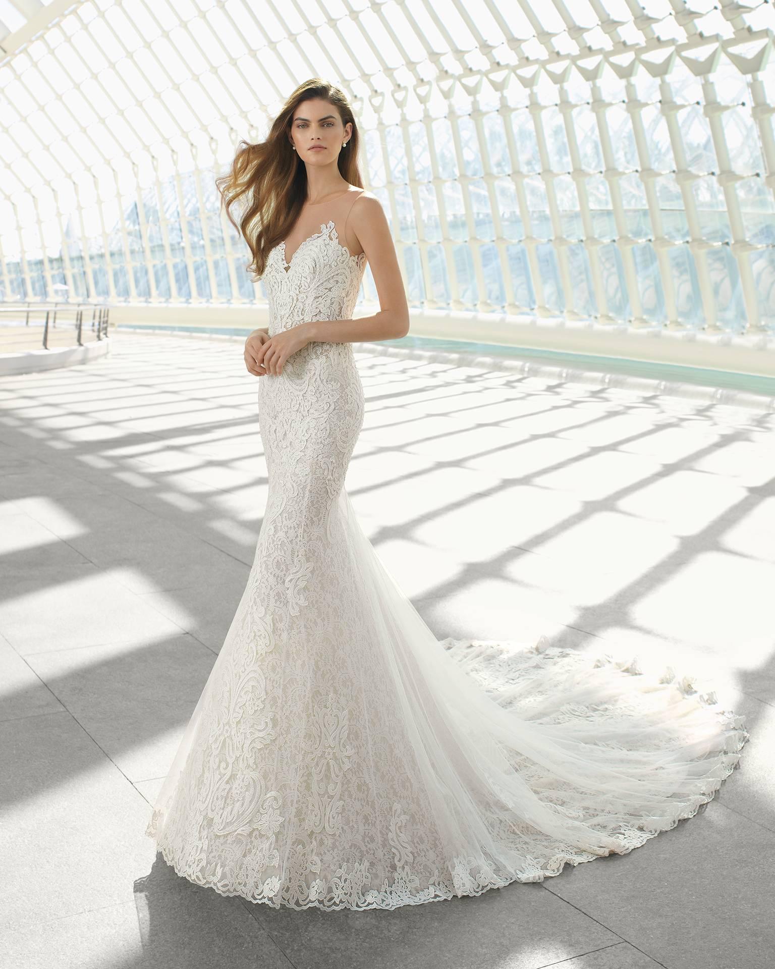 Robe sirene mariage marseille