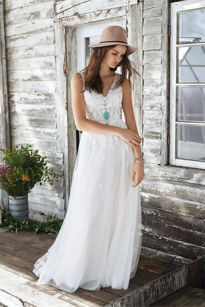 Robe Pour Mariage Theme Champetre Chic Online 52431 67294