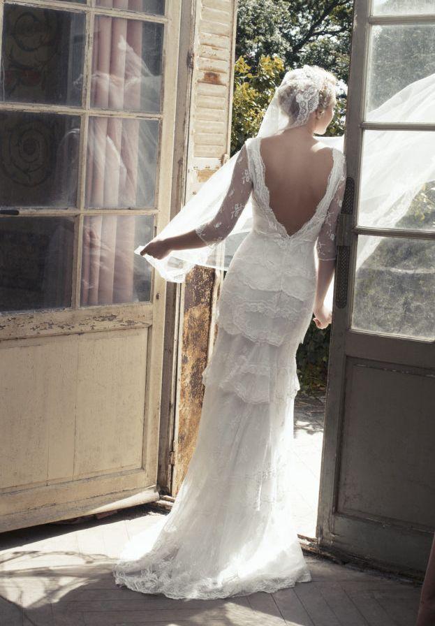 ROBE de mariée CREATEUR  BOHEME CANAILLE MARSEILLE proche rue breteuil 13006