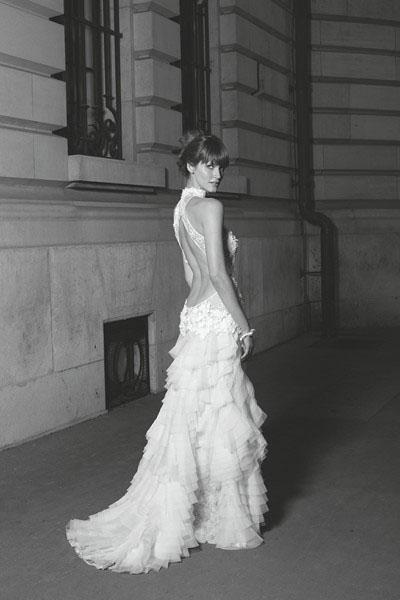 mariage en robe HAUTE COUTURE créateur marseille 13007 et 13006