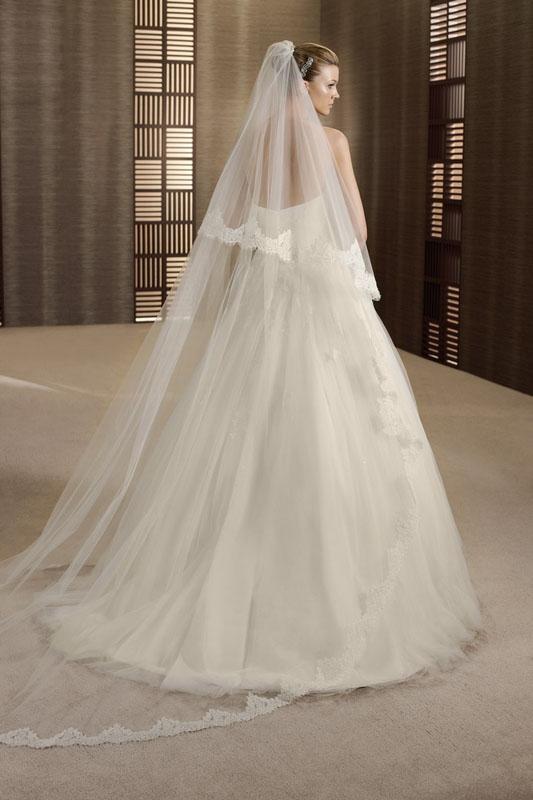 robe de mariee trieste taille haute empire l sonia b. Black Bedroom Furniture Sets. Home Design Ideas