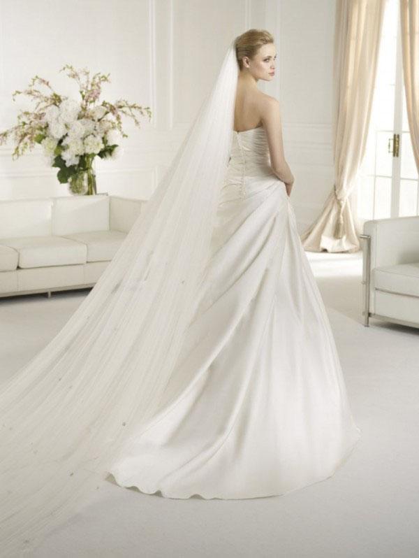 ROBE de mariage ATELIER DIAGONAL ORAN EN SATIN DUCHESSE DRAPE mariée san patrick soniab marseille proche toulon 83