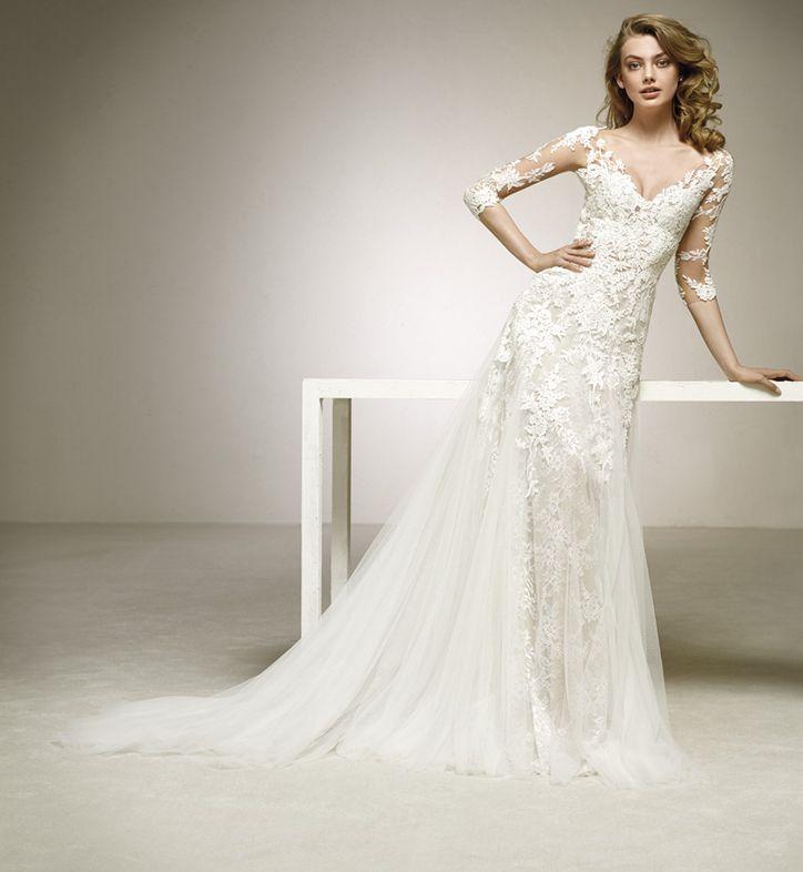 robe de mariage pronovias vieux port  marseille proche d'aubagne 13400