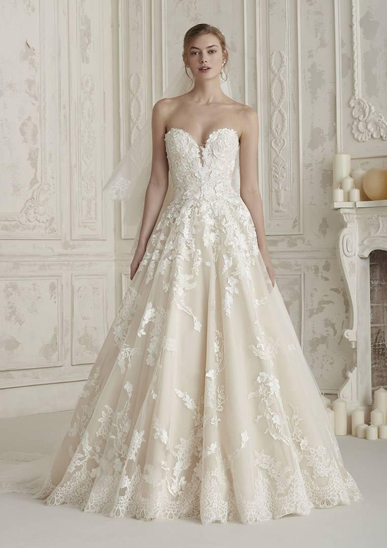 Robe de mariee haute couture princesse