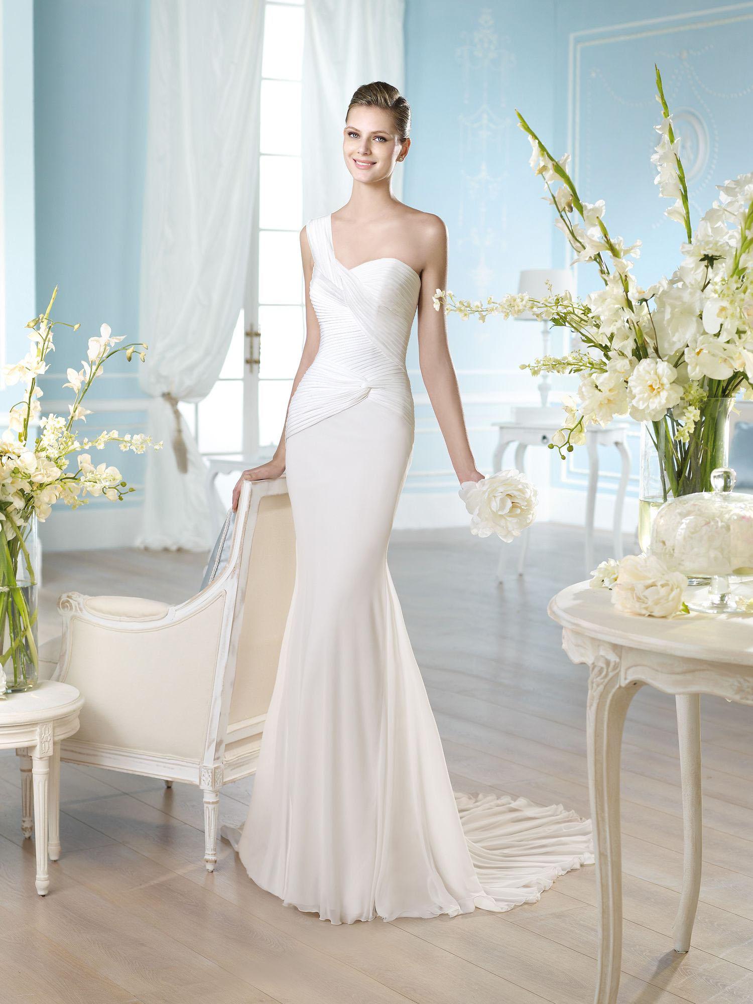 ROBE de mariée MOUSSELINE HABIDD soniab marseille 13007
