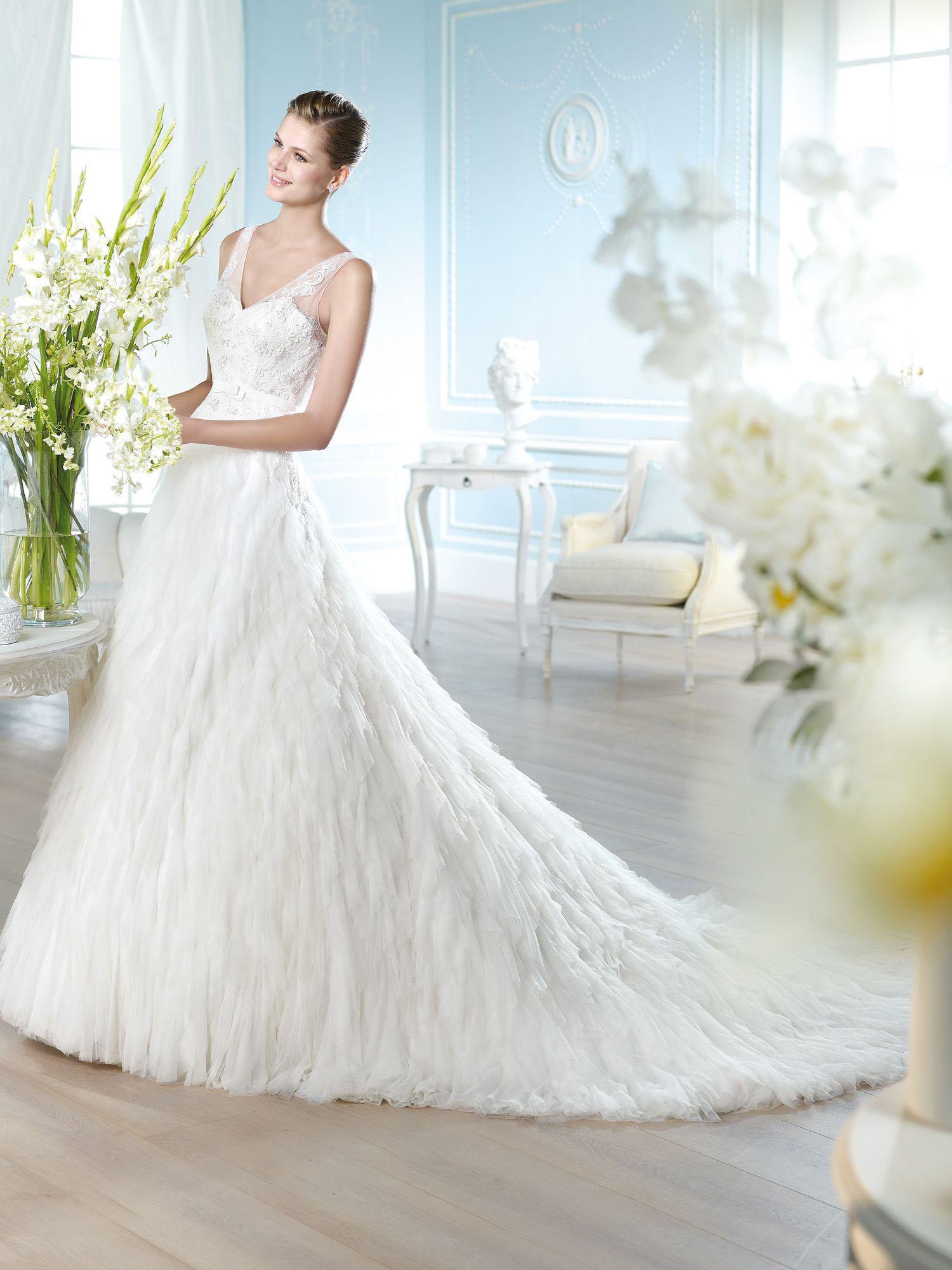 ROBE de mariée HANBAL POUR UN MARIAGE 2014 san patrick soniab marseille proche aubagne 13400