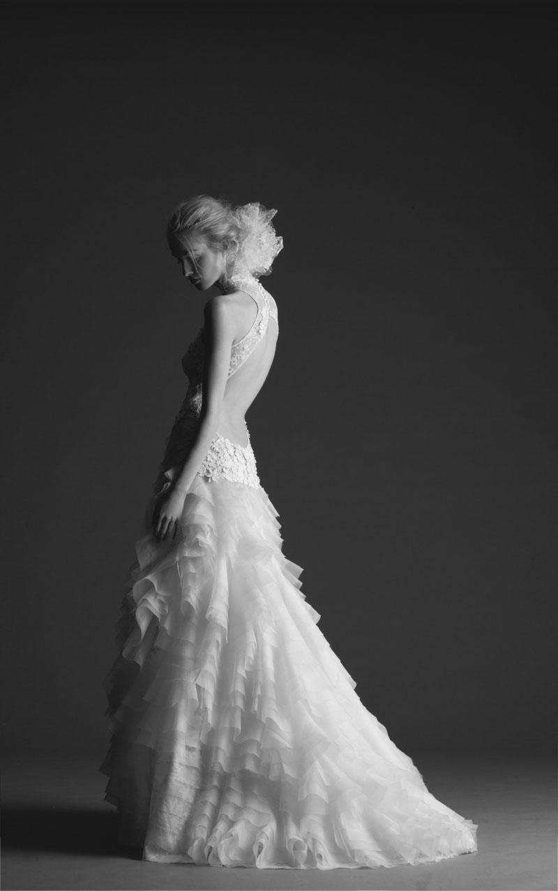 robe de mariee hilana créateur sur  marseille