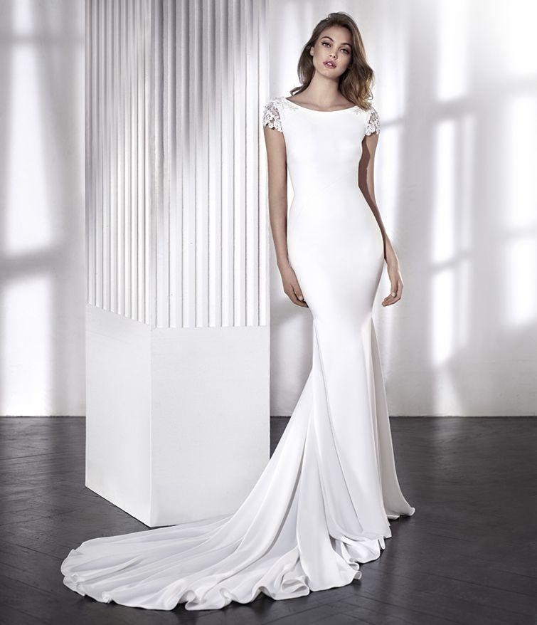 Robe de mariage romantique vintage liena san patrick l for Hors des robes de mariage san francisco