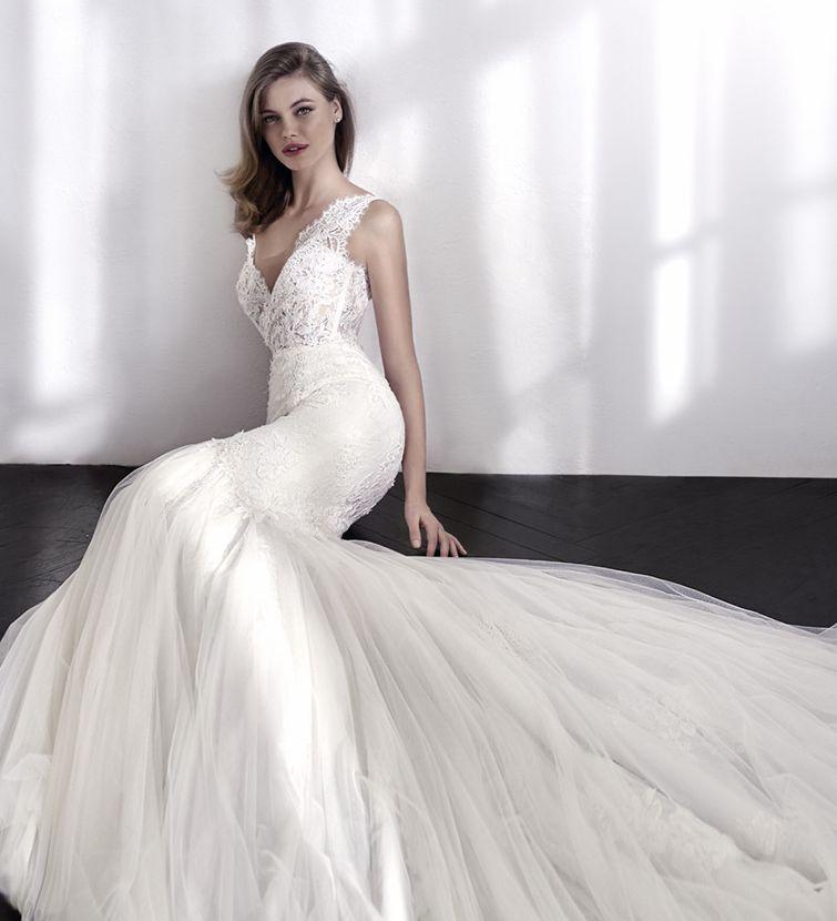 ROBE DE MARIAGE LENDAS PRONOVIAS MARSEILLE LA VALENTINE 13011