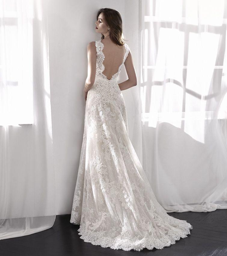 Robe pour votre mariage en dentelle lia san patrick for Hors des robes de mariage san francisco