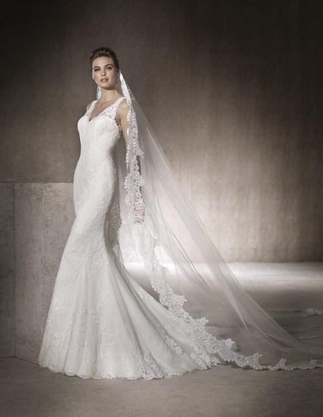 ROBE de mariée de ma vie PRONOVIAS MARLENA proche rue de rome 13006