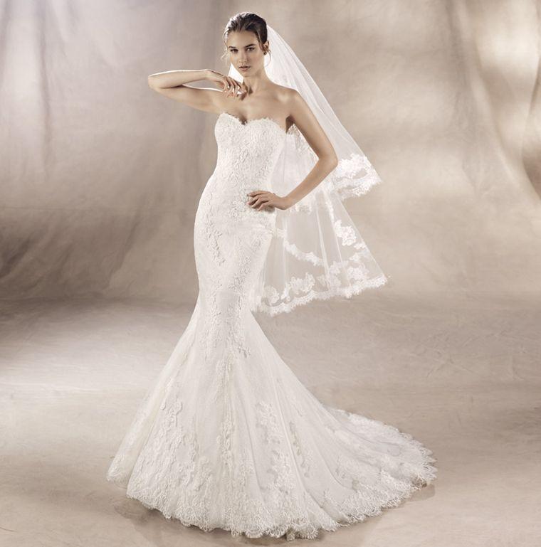 ROBE DE MARIAGE SIRENE WHITE ONE MARSEILLE rue de rome 13006