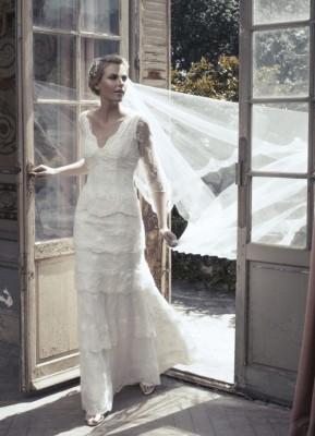 ROBE MARIAGE CREATEUR VINTAGE BOHEME CANAILLE soniab marseille proche aix en provence