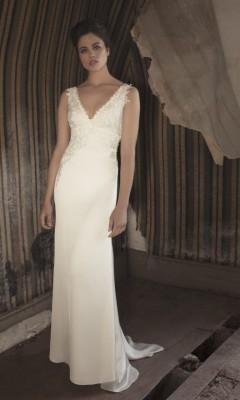 ROBE mariage FLUIDE en mousseline CHANELLE MARSEILLE proche toulon 83000