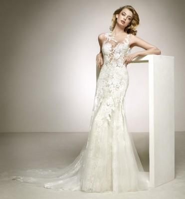 robe de mariée dalia pronovias rue rigord soniab marseille proche rue de rome 13006
