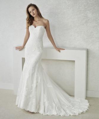 ROBE DE MARIAGE FACIEL DE WHITE ONE SIRENE BUSTIER SUR MARSEILLE 13007