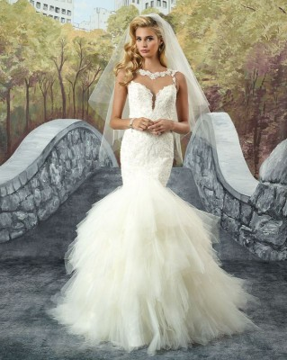 ROBE MARIAGE 8930 JUSTIN ALEXANDER SONIAB FOURREAU MARSEILLE CENTRE proche la valentine 13011