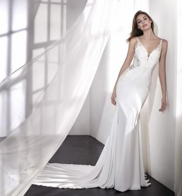 robe de mariée pronovias laetitia soniab marseille proche st mitre les remparts