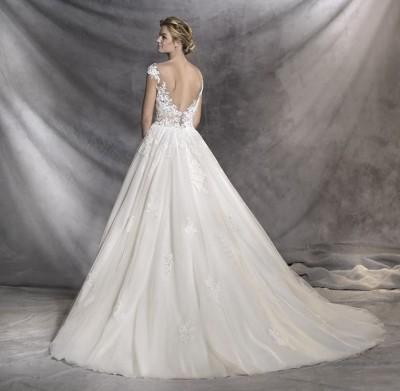 ROBE mariage chic PRONOVIAS ofelia proche la valentine 13011