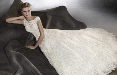 ROBE PRONOVIAS OLIVANA ASSISE